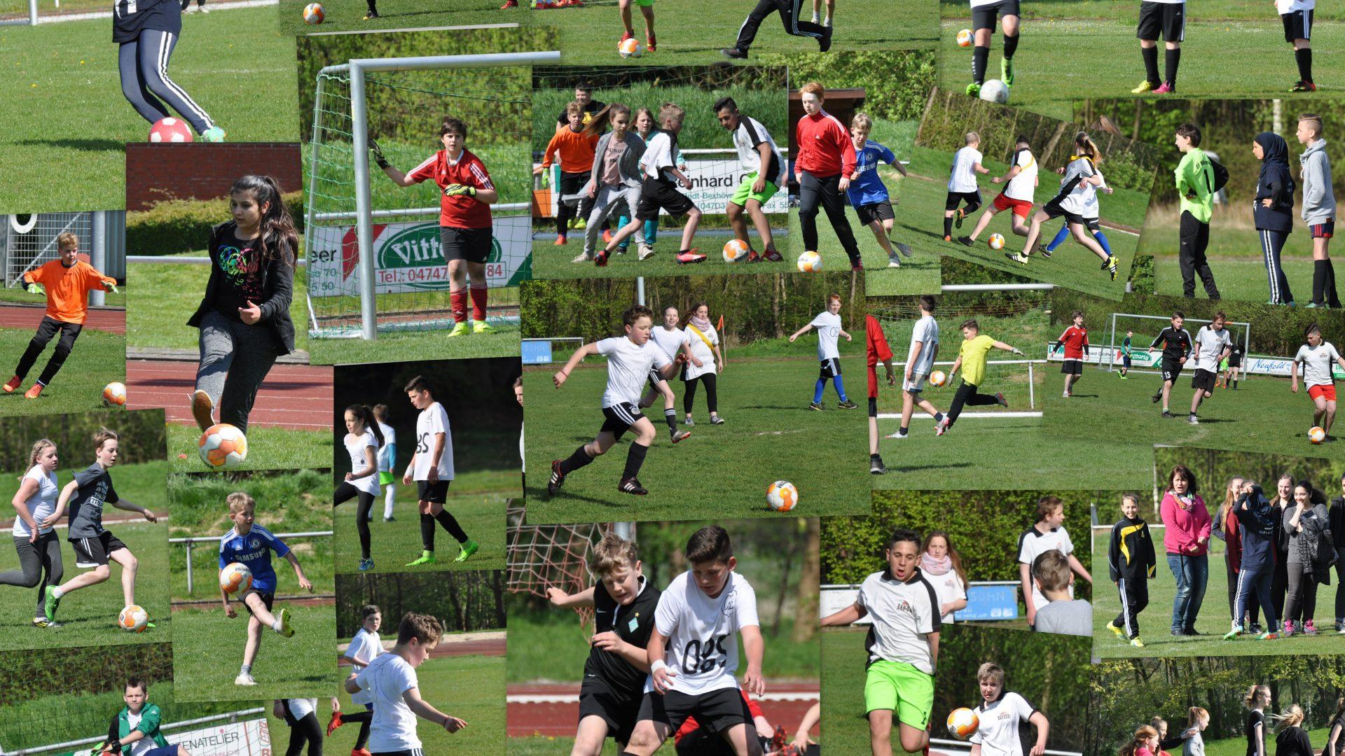 Fußballturnier der 5.+6. Klassen